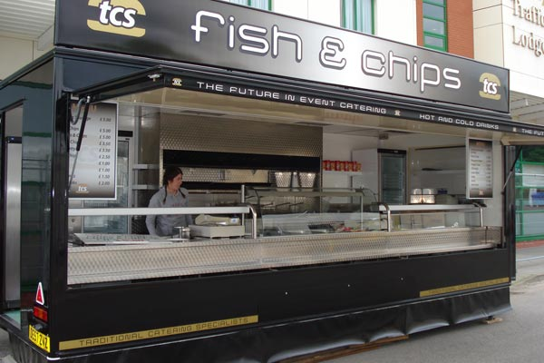 Mobile Fish & Chips Catering unit