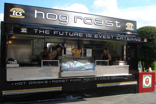 Hog Roast Catering Unit
